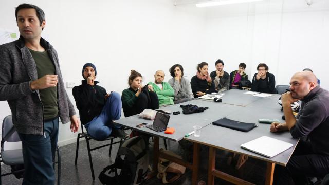 הרצאה בפני קורס ׳צאט עיצוב׳ שנה ד׳, תואר ראשון בעיצוב תעשייתי