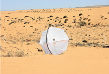 A Tumbleweed Robot to Stop the Spread of Deserts