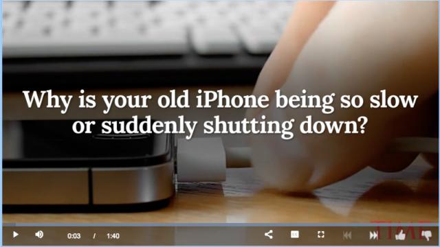 חברת אפל הודתה השבוע כי היא מאיטה במכוון מכשירים ישנים. האם זה ישבור את אמון קהל המשתמשים האדוק שלה?